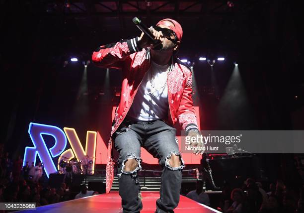 Jim Jones performs onstage during Chance The Rapper to Headline Spotify's RapCaviar Live In Brooklyn in Partnership with Live Nation Urban and...