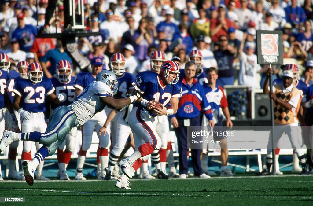 Dallas News Of Getty Scrambles - Photo Against Bills Cowboys Kelly Images Jim The Buffalo