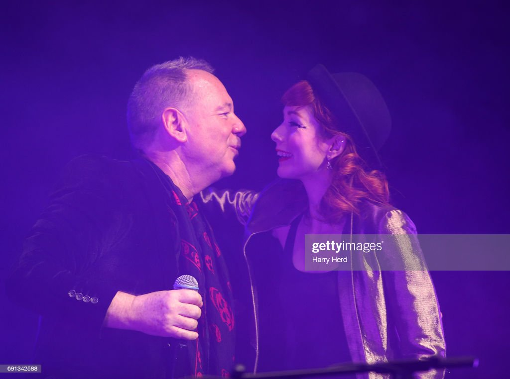 Simple Minds Perform An Acoustic Gig At The Mayflower Theatre, Southampton : News Photo