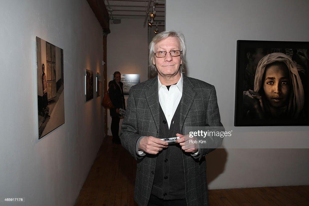 Jim Kerr attends Julian Lennon's 'Horizon' Exhibition Opening at Emmanuel Fremin Gallery on March 11, 2015 in New York City.