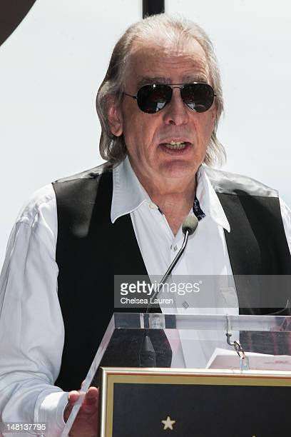 Jim Ladd attends Slash's Hollywood Walk of Fame ceremony on July 10 2012 in Hollywood California