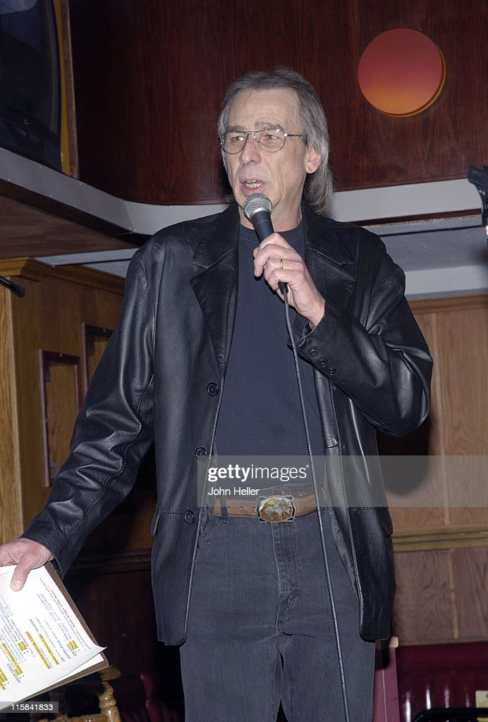 Jim Ladd during Mindy's Memory Primate Sanctuary Benefit - November 22, 2005 at Laughter Factory in Los Angeles, California, United States.