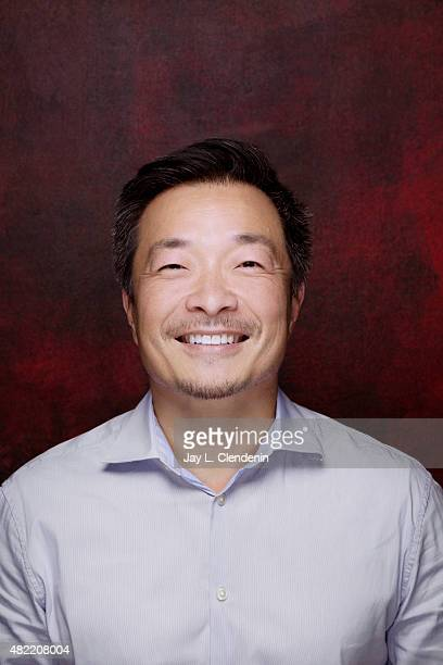 Jim Lee of DC Comics poses for a portraits at ComicCon International 2015 for Los Angeles Times on July 9 2015 in San Diego California PUBLISHED...