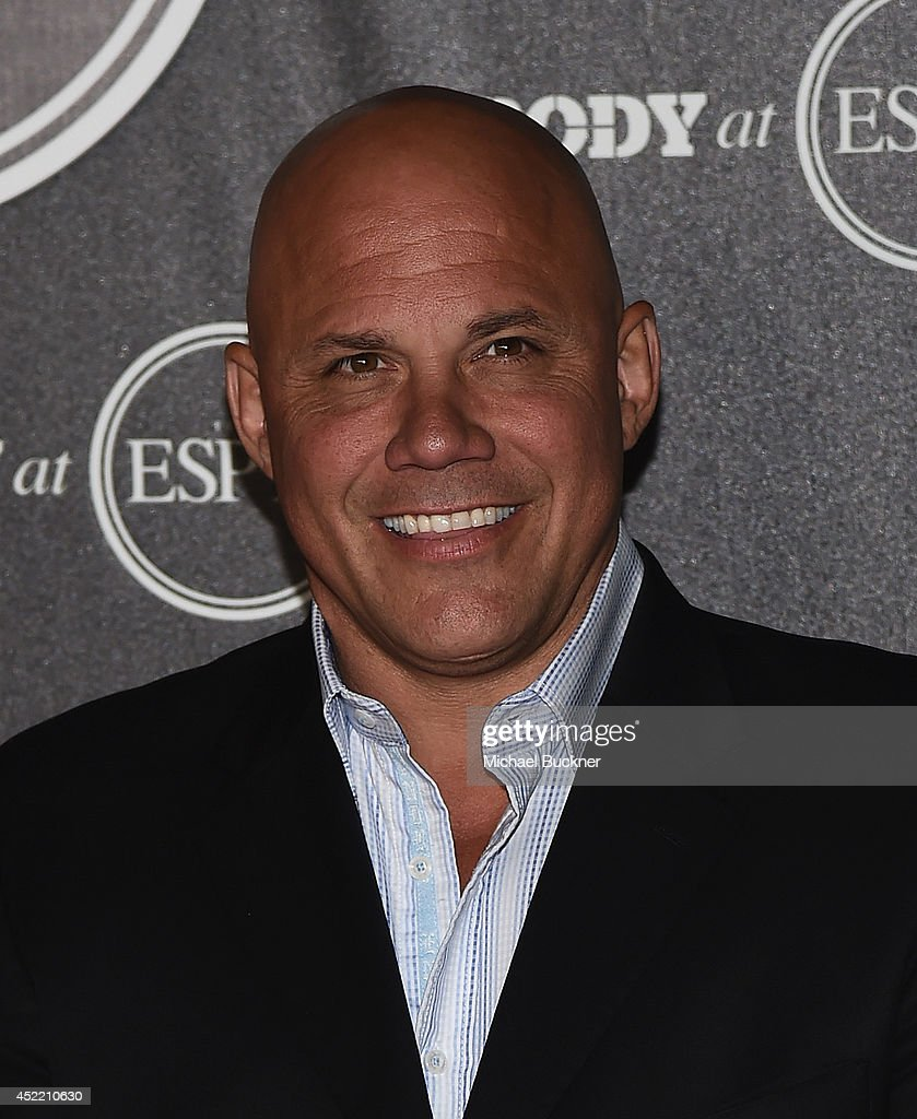 Jim Leyritz arrives at the ESPN's BODY at ESPY's Pre-Party at Lure on July 15, 2014 in Hollywood, California.