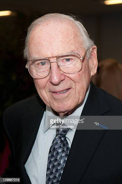 Jim Lovell attends the 2011 Chicago Public Library Foundation and Chicago Public Library gala benefit awards dinner at the University of Illinois at...