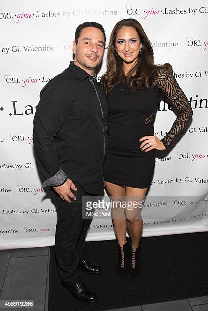 "Jim Marchese and Amber Marchese attend a meet and greet for the newest housewife Amber Marchese from ""Real Housewives of New Jersey"" at Mio Posto..."