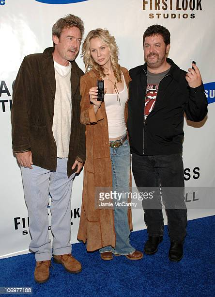 Jim McCaffrey Andrea Roth John Scurti during Samsung and First Look Studios Presents 'Across The Hall' Premiere Screening and Party at Samsung...