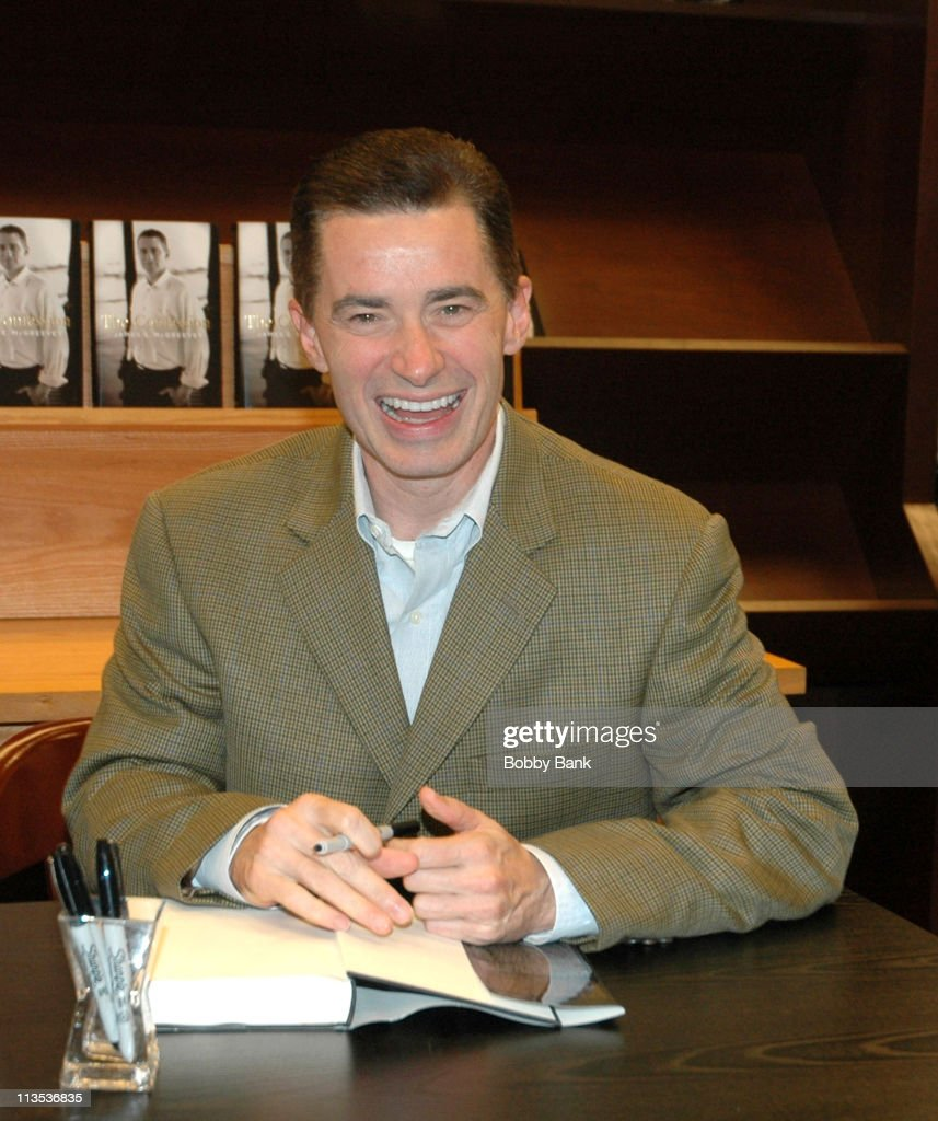 Jim McGreevey, Former Gov. of New Jersey, Book Signing at Barnes & Noble