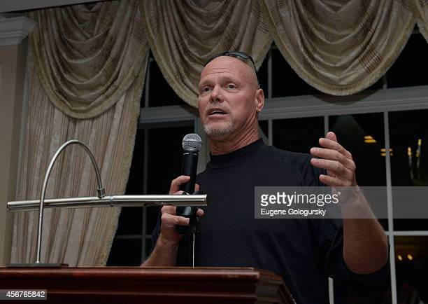 Jim McMahon attends Players Against Concussions at Pelham Country Club on October 6 2014 in Pelham Manor New York