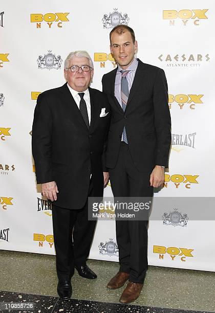 Jim McNabb and Robert Fowler attend BOX NYC at Roseland Ballroom on April 15 2010 in New York City