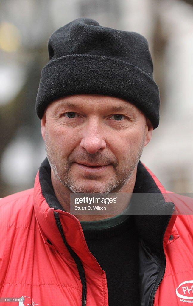 Jim McNeill attends the unveiling of the statue of 'Boris The Polar Bear' to launch the Great British campaign to save the species at Sloane Square on January 14, 2013 in London, England.