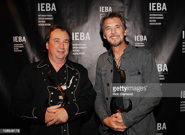 Jim Messina and Kenny Loggins Loggins Messina at the 2008 IEBA Honors Dinner at The Hilton Suites on October 14 2008 in Nashville Tennessee