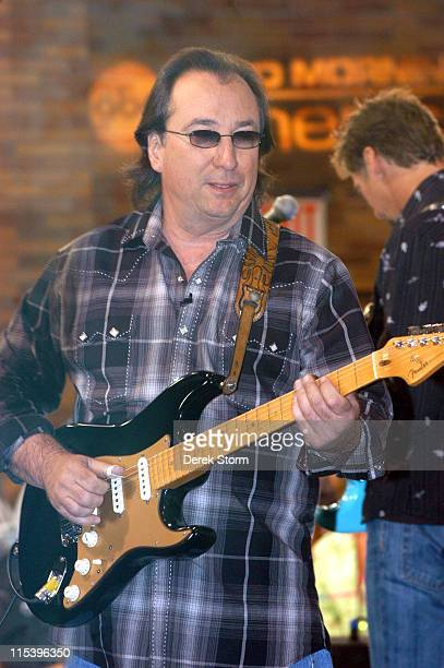 Jim Messina during Kenny Loggins and Jim Messina Perform on Good Morning America June 14 2005 in New York City New York United States