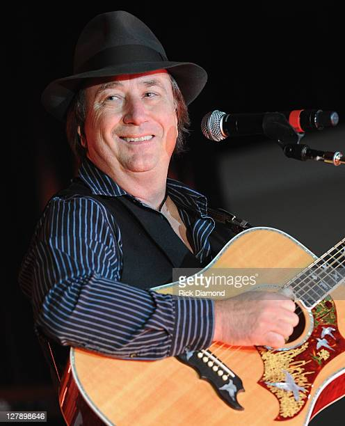 Jim Messina performs at the APA showcase during the International Entertainment Buyers Association Conference and Hall of Fame on October 2 2011 in...
