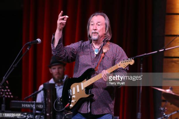 """Jim Messina performs during """"We All Come Together benefit for John Berry and Music Health Alliance at City Winery Nashville on April 23 2019 in..."""