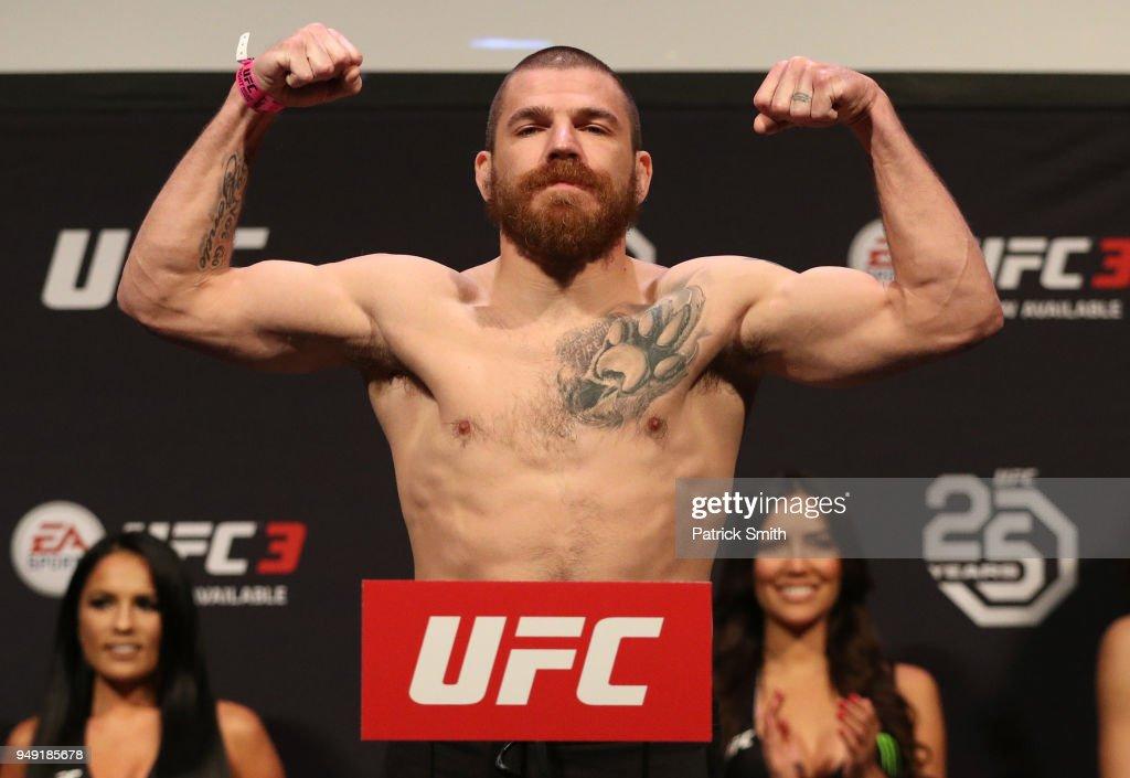UFC Fight Night - Weigh-ins