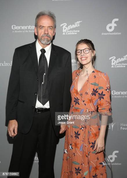 Jim Mills husband of Dream Foundation Dreamer Leeanne Mills and ClaireÕs Place Foundation Founder Claire Wineland attend the Dream Foundation's 2017...