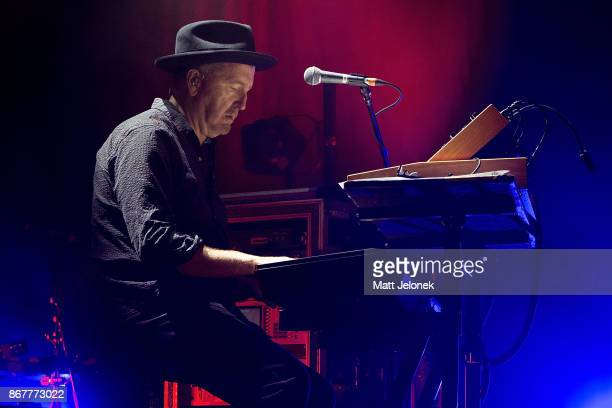 Jim Monginie from Midnight Oil performs at the Fremantle Arts Centre on October 29 2017 in Fremantle Australia