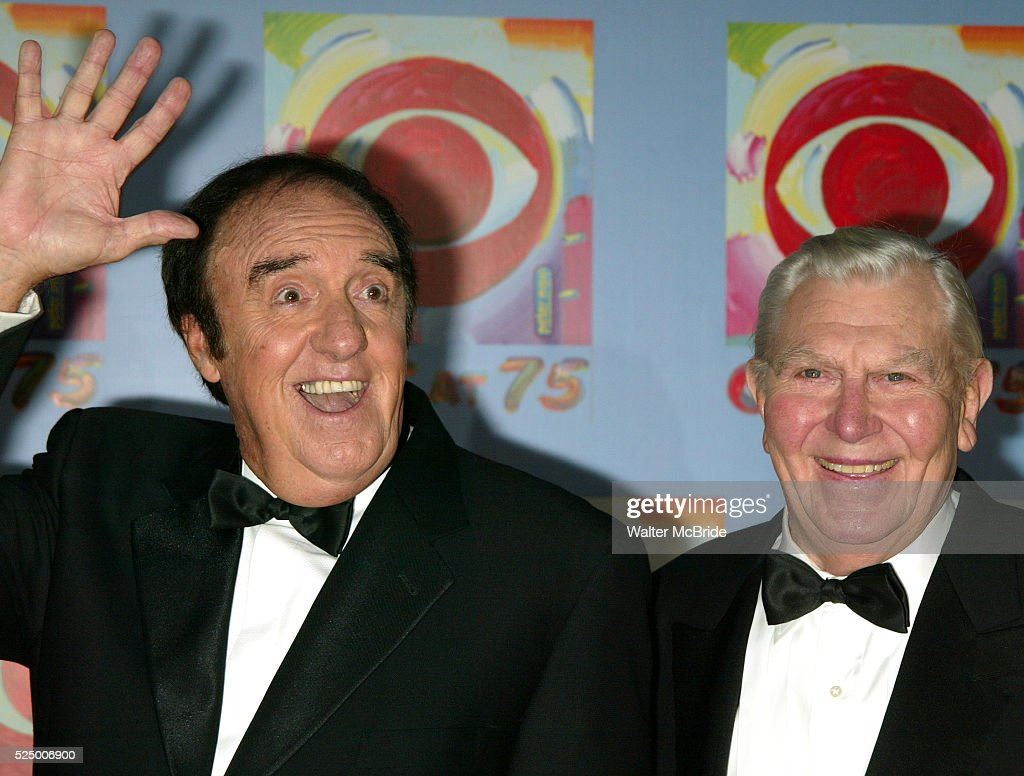 Jim Nabors and Andy Griffith ( ANDY GRIFFITH SHOW ) Attending CBS AT 75, a three hour entertainment extravaganza commemorating CBS's 75th Anniversary, which will be broadcast live from the Hammerstein Ballroom at New York's Manhattan Center in New York City. November 2, 2003