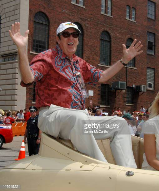 Jim Nabors during 90th Running of The Indianapolis 500 The Indy 500 All Star Festival Parade in Indianapolis Indiana United States