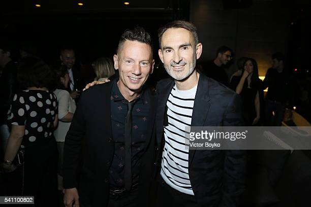 49f3bbf003e9 Jim Nelson and Neil Barrett attend GQ celebration of Milan Men s Fashion  Week 2016 at Radio