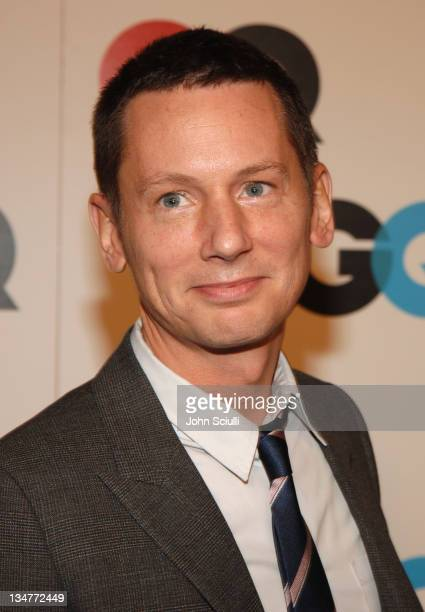 Jim Nelson EditorinChief GQ Magazine during GQ Magazine Celebrates the 2005 Men of the Year Arrivals at Mr Chow in Beverly Hills California United...