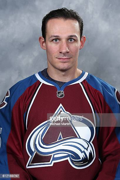 Jim O'Brien of the Colorado Avalanche poses for his official headshot for the 20162017 NHL season on September 22 2016 at the Pepsi Center in Denver...
