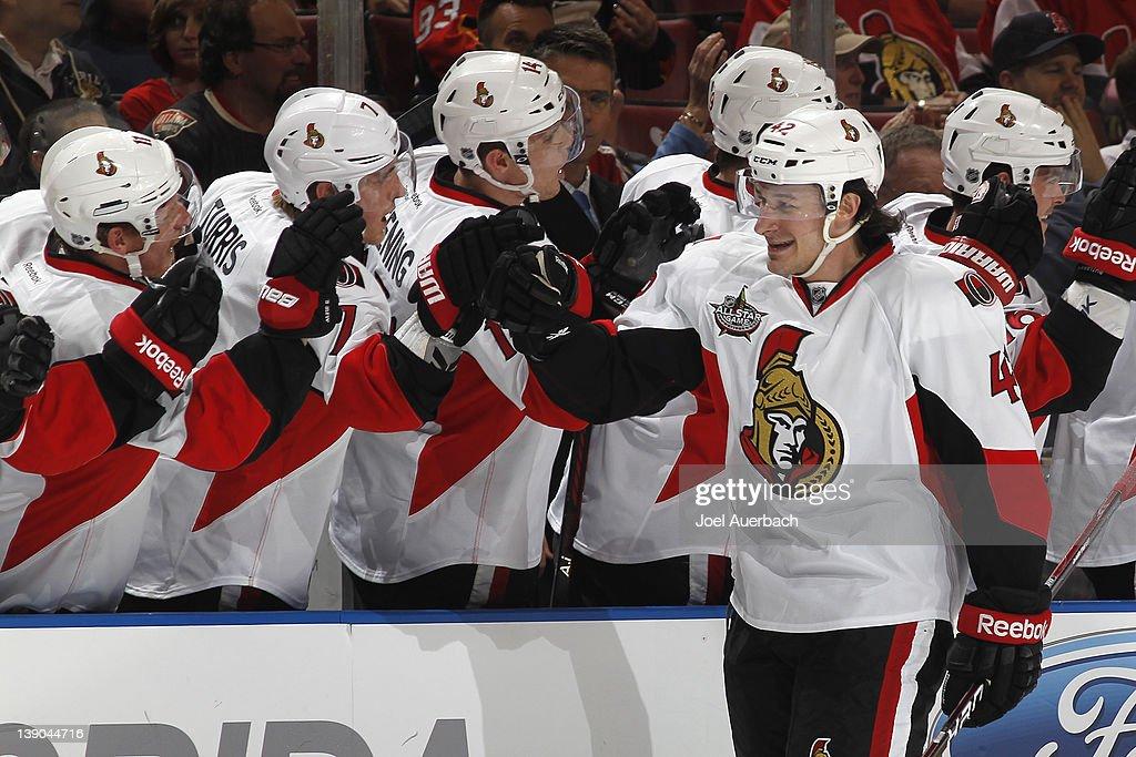 Ottawa Senators v Florida Panthers : News Photo