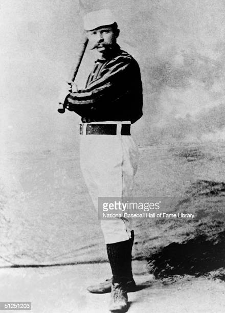 Jim O'Rourke poses for a season portrait. Jim O'Rourke played for the Buffalo Bisons from 1881-1884, Boston Red Caps in 1876-1878 then 1880,...