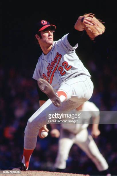 Jim Palmer Baltimore Orioles pitching during a game from his 1971 season with the Baltimore Orioles Jim Palmer played for 19 years all with the...
