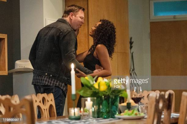Jim Parrack and Sierra McClain in the Studs episode of 911 LONE STAR airs Monday Feb 10 on FOX