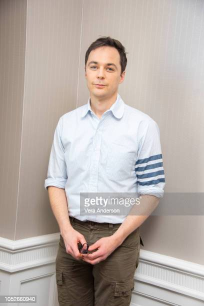 """Jim Parsons at """"The Big Bang Theory"""" Press Conference at the London Hotel on October 19, 2018 in West Hollywood, California."""