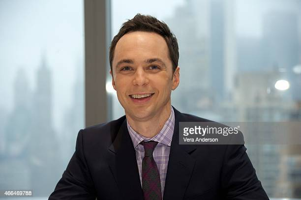 Jim Parsons at the 'Home' Press Conference at the Mandarin Oriental Hotel on March 14 2015 in New York City