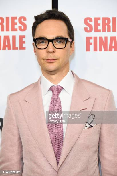 "Jim Parsons attends Series Finale Party For CBS' ""The Big Bang Theory"" at The Langham Huntington, Pasadena on May 1, 2019 in Pasadena, California."