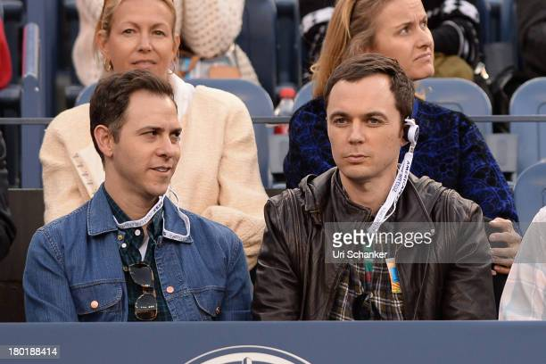 Jim Parsons attends the 2013 US Open at USTA Billie Jean King National Tennis Center on September 9 2013 in New York City