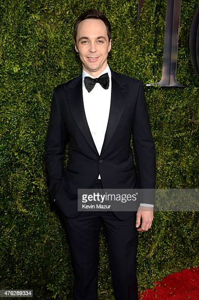 Jim Parsons attends the 2015 Tony Awards at Radio City Music Hall on June 7 2015 in New York City