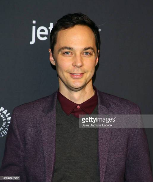 Jim Parsons attends the 2018 PaleyFest Los Angeles CBS's 'The Big Bang Theory' And 'Young Sheldon' on March 21 2018 in Hollywood California