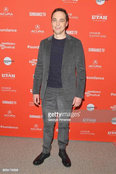 Jim Parsons attends the A Kid Like Jake Premiere during the 2018 Sundance Film Festival at Eccles Center Theatre on January 23 2018 in Park City Utah