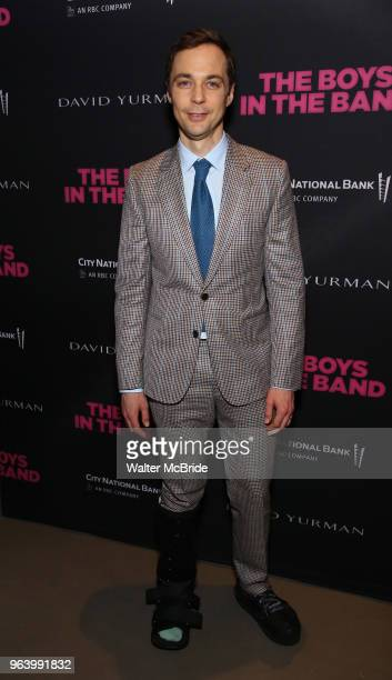 Jim Parsons attends 'The Boys In The Band' 50th Anniversary Celebration at The Second Floor NYC on May 30 2018 in New York City
