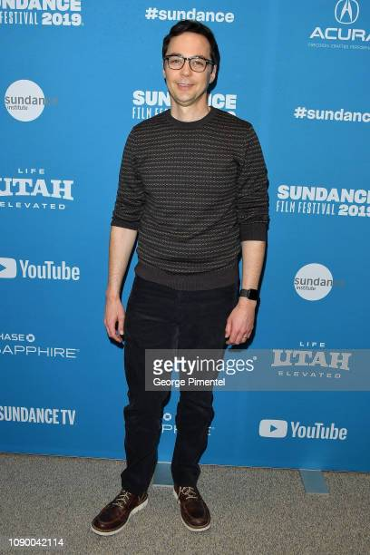 """Jim Parsons attends the """"Extremely Wicked, Shockingly Evil And Vile"""" Premiere during the 2019 Sundance Film Festival at Eccles Center Theatre on..."""
