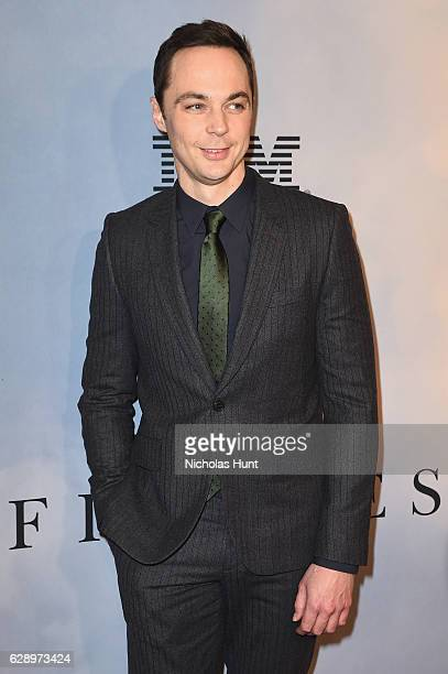 """Jim Parsons attends the """"Hidden Figures"""" New York Special Screening on December 10, 2016 in New York City."""
