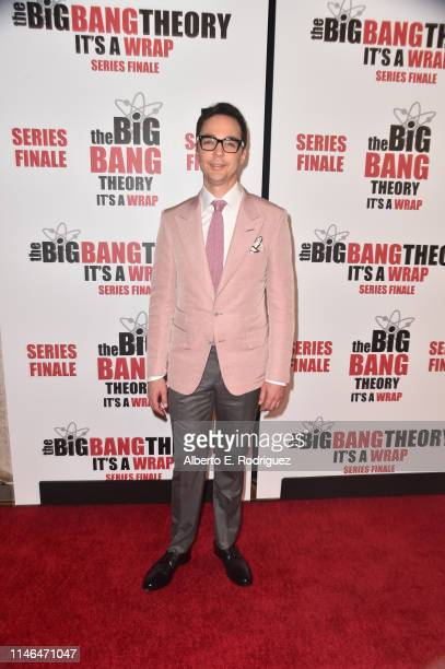 "Jim Parsons attends the series finale party for CBS' ""The Big Bang Theory"" at The Langham Huntington, Pasadena on May 01, 2019 in Pasadena,..."