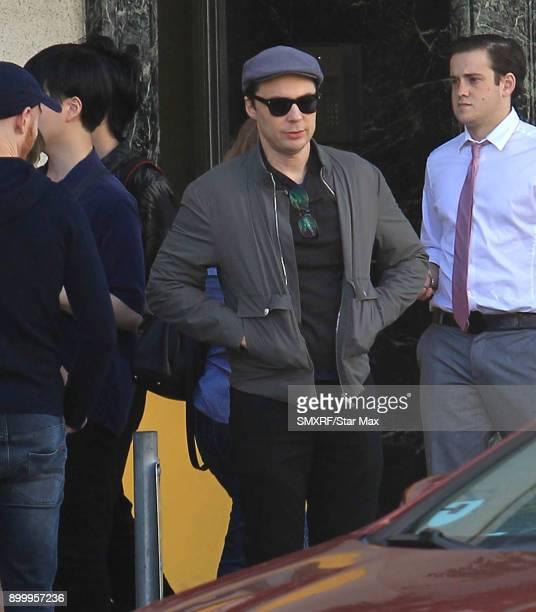 Jim Parsons is seen on December 30 2017 in Los Angeles CA