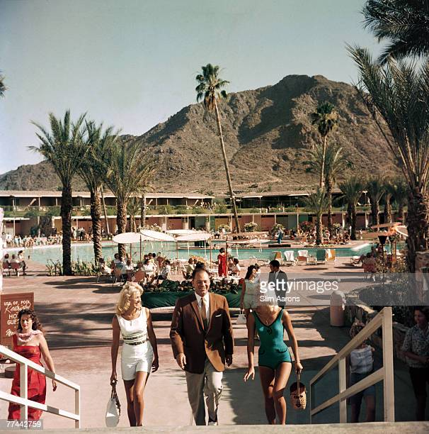 Jim Paul and friends at the Mountain Shadows Resort Phoenix Arizona 1961