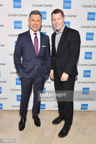 Jim Porcarelli and Richard Gerst attend the Winter Gala at Lincoln Center at Alice Tully Hall on February 13 2018 in New York City