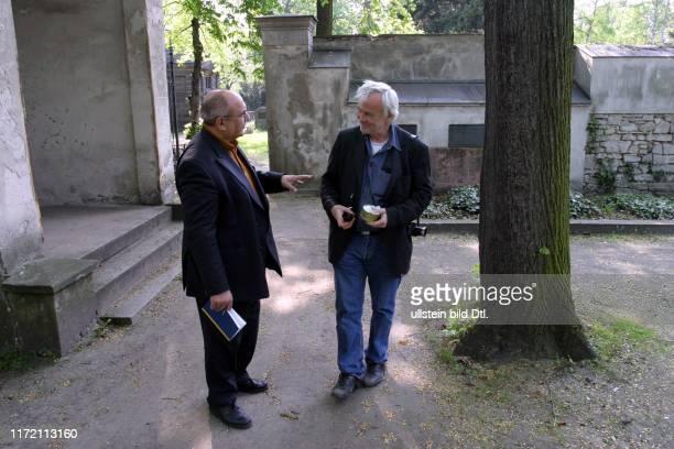 Jim Rakete Fotograf beim Spaziergang mit Bernd Philipp