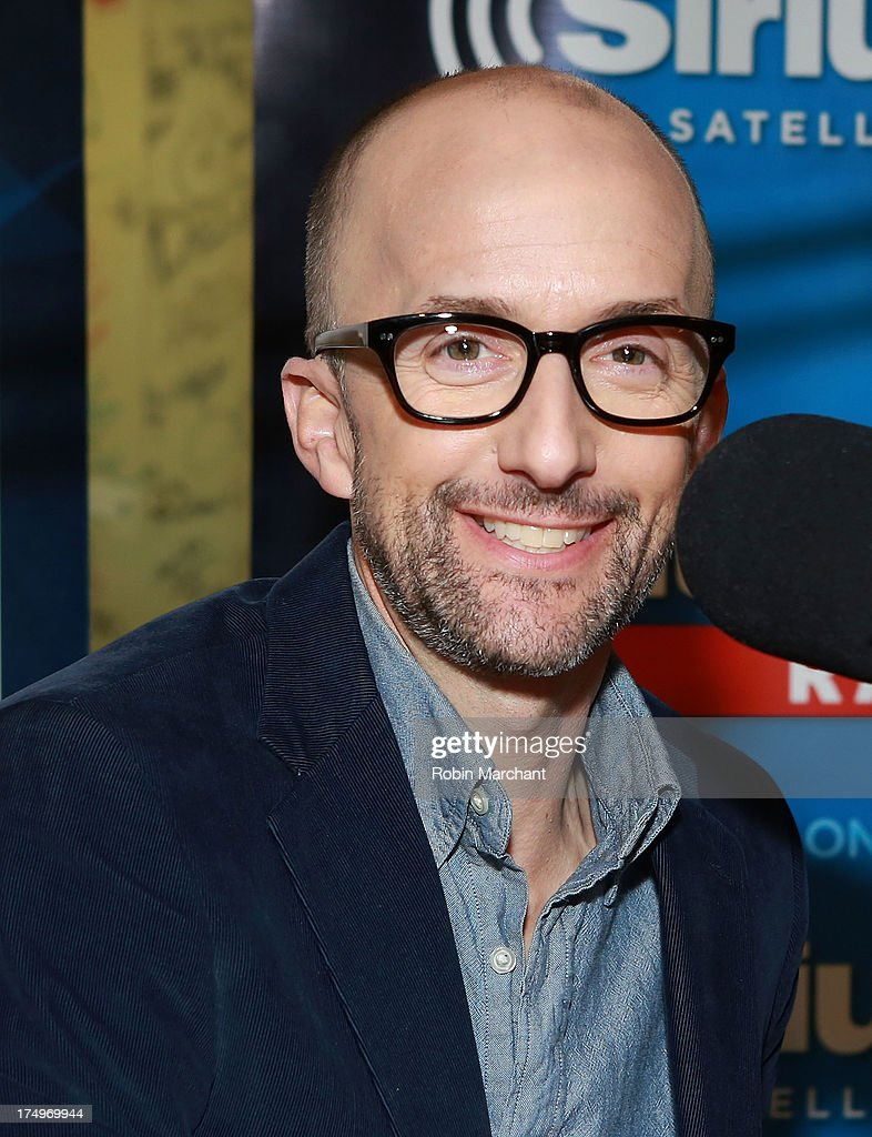 Jim Rash visits SiriusXM's Entertainment Weekly Radio 'Editor's Hour' at SiriusXM Studios on July 29, 2013 in New York City.
