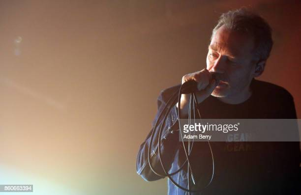 Jim Reid of The Jesus And Mary Chain performs during a concert at Astra on October 12 2017 in Berlin Germany