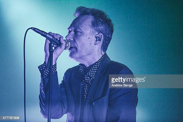 Jim Reid of The Jesus And Mary Chain performs on the stage two for Best Kept Secret Festival at Beekse Bergen on June 19 2015 in Hilvarenbeek...