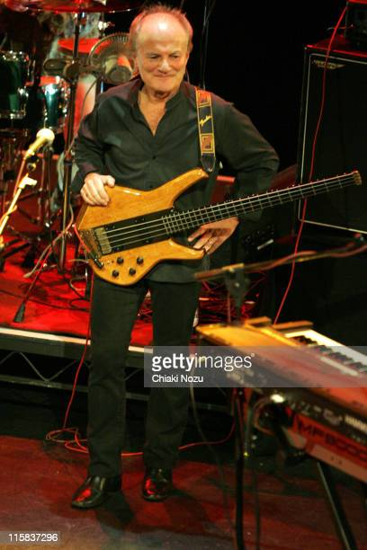 Jim Rodford of The Zombies during The Zombies in Concert at the Bloomsbury Theatre in London October 22 2005 at Bloomsbury Theatre in London Great...